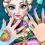 Frozen Elsa Nails Spa