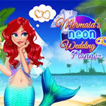 Mermaid's Neon Wedding Planner